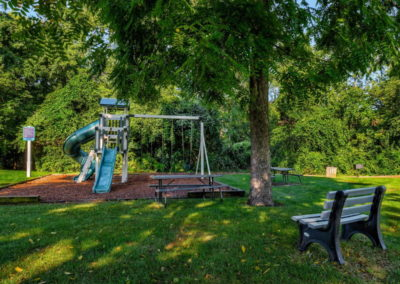 Playground with jungle gym at Eammus, PA apartment community